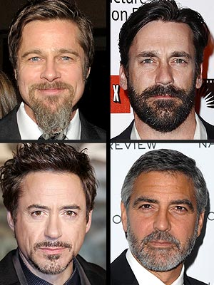 Goatee beards