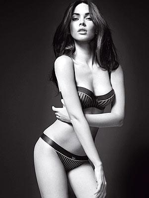 Megan Fox Armani Underwear Shoot. Megan Fox#39;s Sexy New Ads for