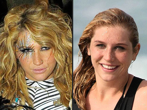kesha eye makeup singer has become as known for her over-the-top makeup