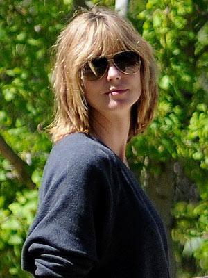 heidi klum hair 2010. Heidi Klum#39;s New