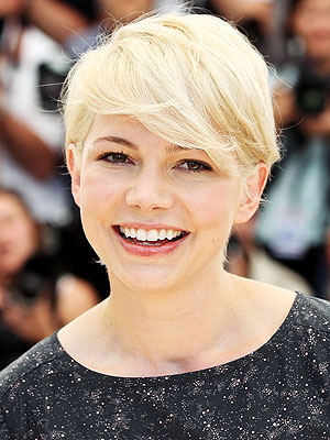 michelle williams short hair cannes. Michelle Williams Catches