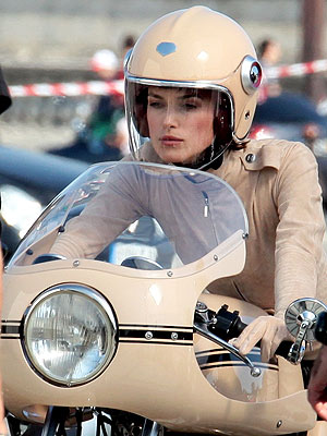keira knightley face. Keira Knightley Suits Up For