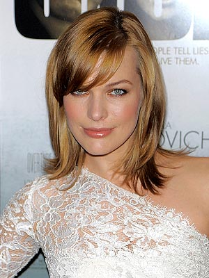Milla Jovovich Dyes Her Hair Strawberry Blonde