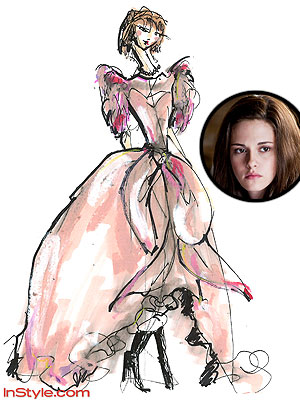 kristen stewart bella wedding dress. BUZZ: Will Kristen Stewart#39;s