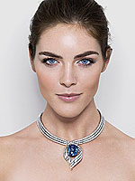 Harry Winston Debuts The New 45.52-Carat Hope Necklace
