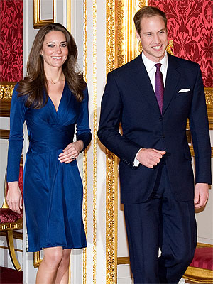 Kate Middleton Wears Issa Dress to Engagement Photocall