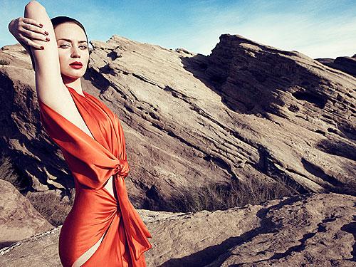 Emily Blunt Harper's Bazaar UK