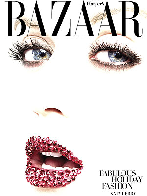 Katy Perry Sparkles on Exclusive Cover of Harper's Bazaar