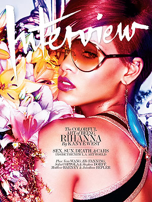 Rihanna Tells Kanye West About Her Style Evolution in 'Interview'