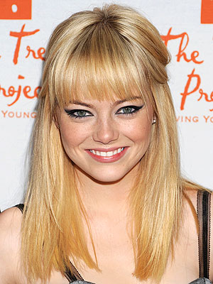 Emma Stone Goes Blonde