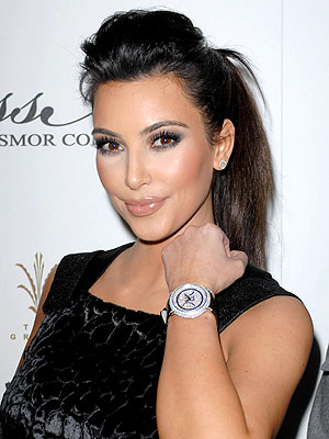 Kim Kardashian Unveils Brissmor Signature Watch Collection