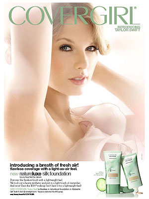 Taylor Swift cover girl