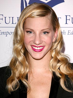 Glee's Heather Morris Flirt Makeup Contract