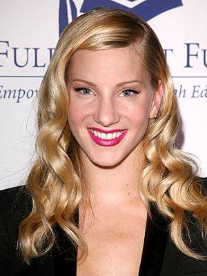 Glee's Heather Morris Flirt Makeup Contract