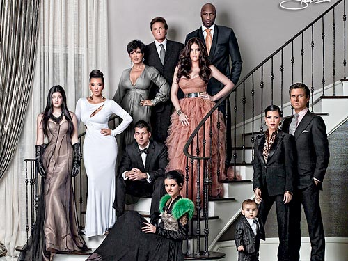 Details on the Kardashian's Haute Holiday Card