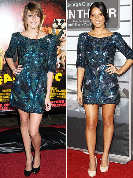 SHAILENE VS. OLIVIA photo | Olivia Munn, Shailene Woodley