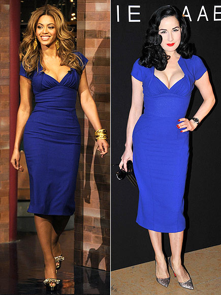 BEYONCÉ VS. DITA photo | Beyonce Knowles, Dita Von Teese