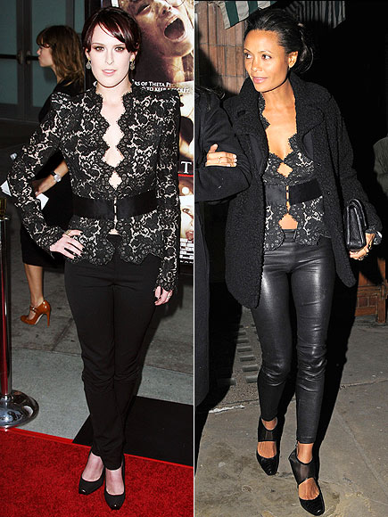 RUMER VS. THANDIE photo | Rumer Willis, Thandie Newton