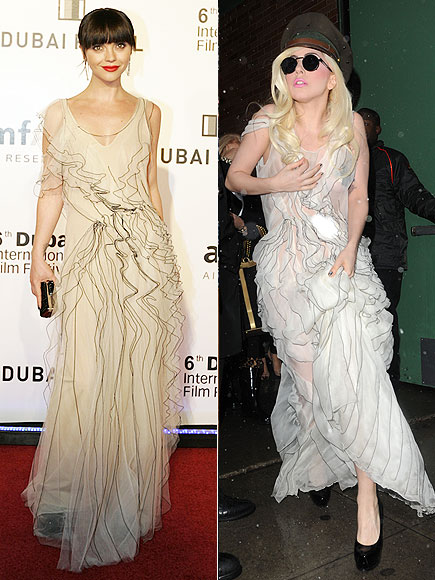 CHRISTINA VS. LADY GAGA photo | Christina Ricci, Lady Gaga