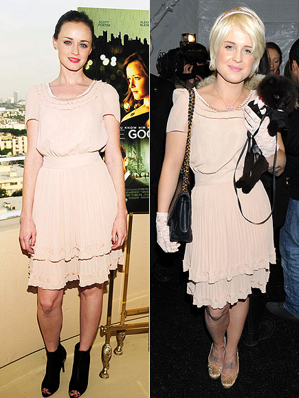 ALEXIS VS. KELLY photo | Alexis Bledel, Kelly Osbourne