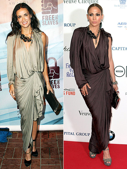 DEMI VS. JENNIFER  photo | Demi Moore, Jennifer Lopez