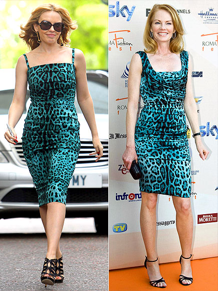 KYLIE VS. MARG photo | Kylie Minogue, Marg Helgenberger