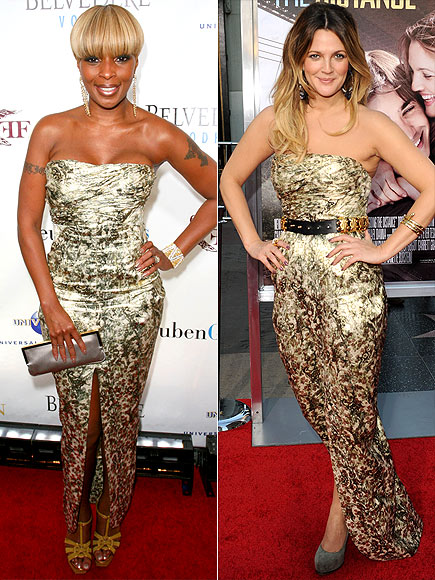 MARY J. VS. DREW  photo | Drew Barrymore, Mary J. Blige