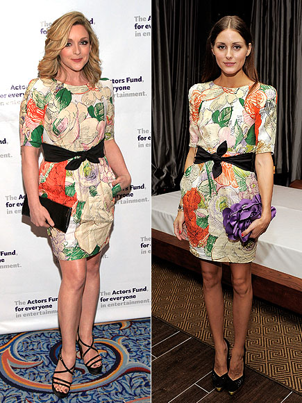 JANE VS. OLIVIA photo | Jane Krakowski, Olivia Palermo