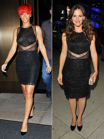 RIHANNA VS. JENNIFER photo | Jennifer Garner, Rihanna