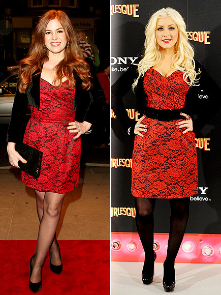 ISLA VS. CHRISTINA photo | Christina Aguilera, Isla Fisher