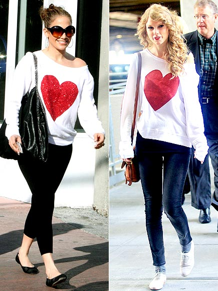 JENNIFER VS. TAYLOR photo | Jennifer Lopez, Taylor Swift
