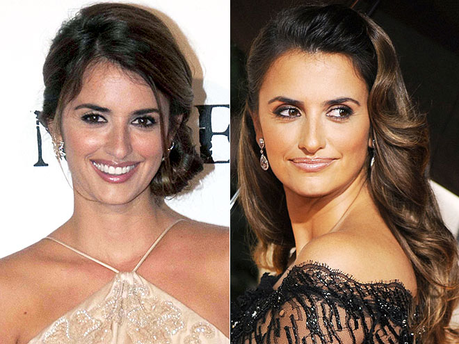 Penelope Cruz Curly Hair. Penelope Cruz with Short Hair