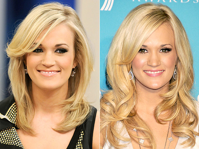 Carrie Underwood Hair Color