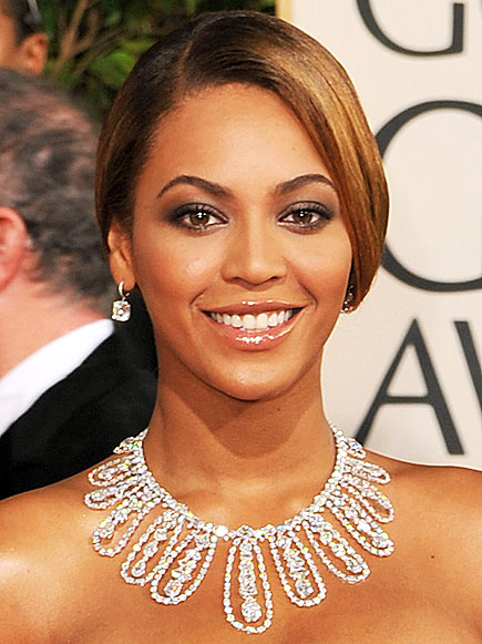 ON GETTING MADE UP photo | Beyonce Knowles