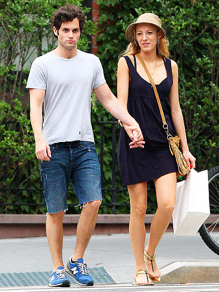 SHOPPING DATE photo | Blake Lively, Penn Badgley