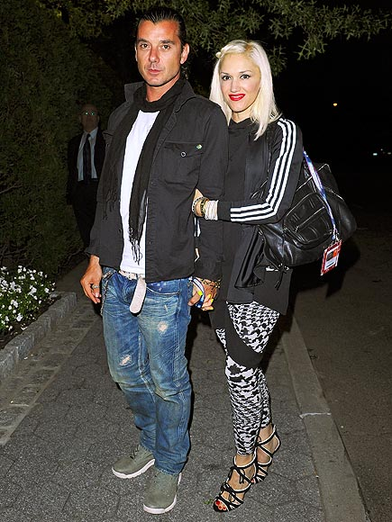 SPORTING EVENT  photo | Gavin Rossdale, Gwen Stefani