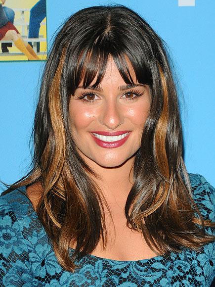 CHUNKY HIGHLIGHTS photo | Lea Michele