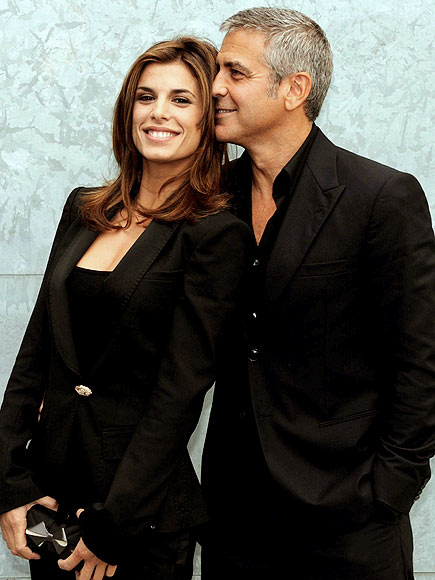 ELISABETTA AND GEORGE  photo | Elisabetta Canalis, George Clooney