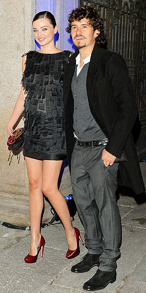 MIRANDA AND ORLANDO photo | Miranda Kerr, Orlando Bloom