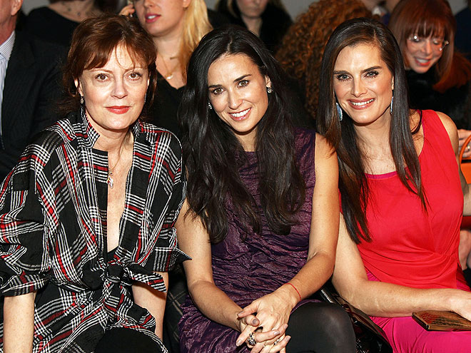 BEST ANNIVERSARY SHOW  photo | Brooke Shields, Demi Moore, Susan Sarandon