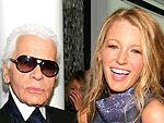 Blake's Fashion Fête! | Blake Lively, Karl Lagerfeld