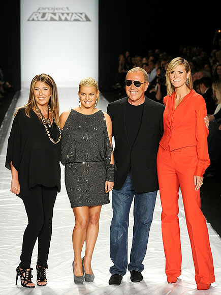 NINA, JESSICA, MICHAEL & HEIDI photo | Jessica Simpson