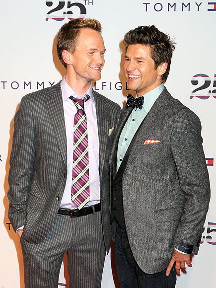 NEIL PATRICK AND DAVID photo | Neil Patrick Harris