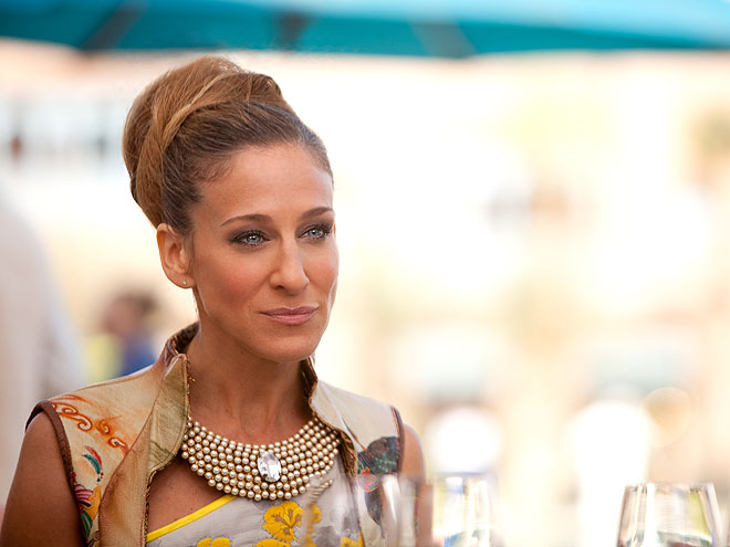 BEADED BIB CHOKERS photo | Sarah Jessica Parker