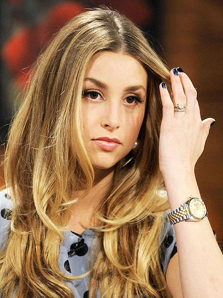 NAVY NAILS photo | Whitney Port
