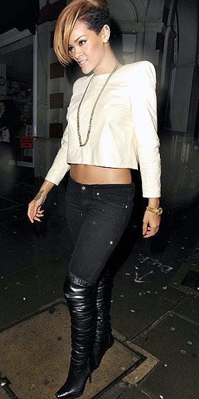CROPPED TOPS photo | Rihanna