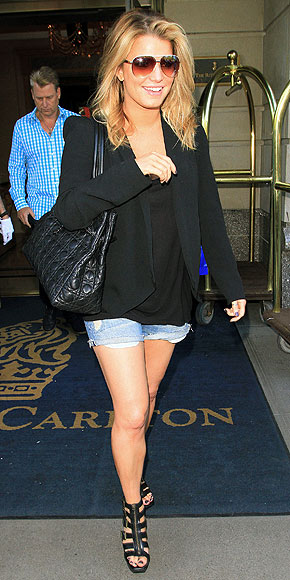 DISTRESSED DENIM CUTOFFS photo | Jessica Simpson