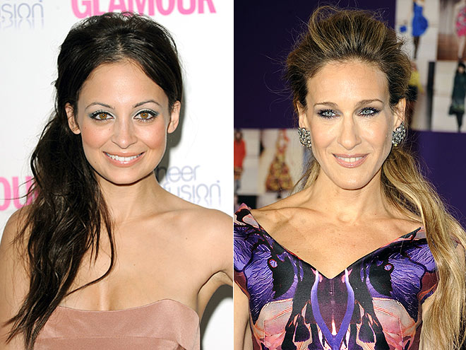 PUMPED-UP PONYTAIL photo | Nicole Richie, Sarah Jessica Parker