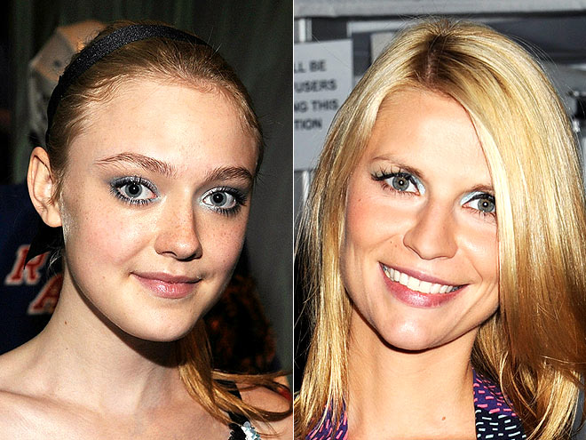 ICY GAZE photo | Claire Danes, Dakota Fanning