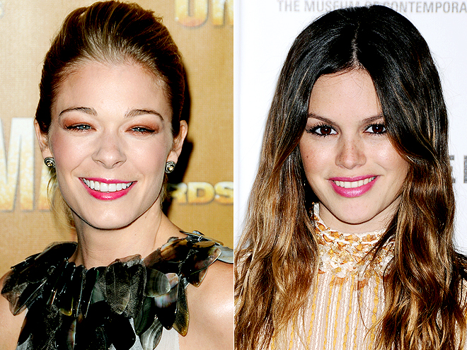 FUCHSIA LIPS photo | LeAnn Rimes, Rachel Bilson